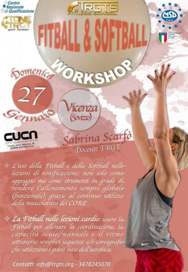WORKSHOP FITBALL & SOFTBALL