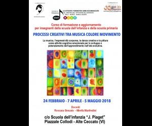 PROCESSI CREATIVI TRA MUSICA COLORE MOVIMENTO