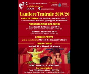 CANTIERE TEATRALE